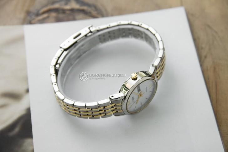 Đồng hồ Citizen EW3254-87A thời trang, dây demi sang trọng - Ảnh 5