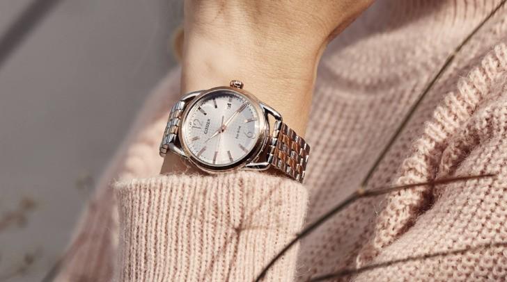 Đồng hồ Citizen FE6086-74A vẻ đẹp tinh tế với độ bền bỉ - Ảnh 2