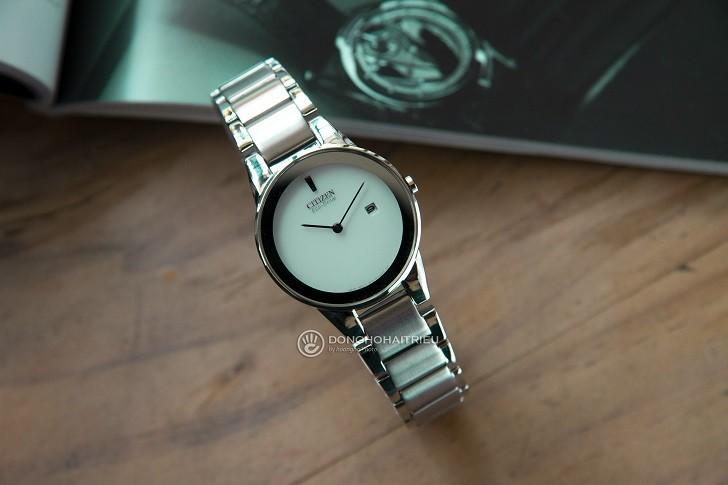 Đồng hồ nữ Citizen GA1050-51A bộ máy năng lượng ánh sáng - Ảnh 1