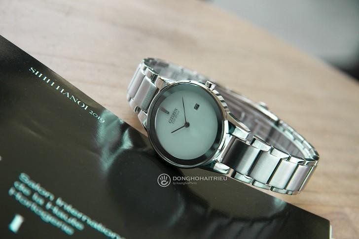 Đồng hồ nữ Citizen GA1050-51A bộ máy năng lượng ánh sáng - Ảnh 4