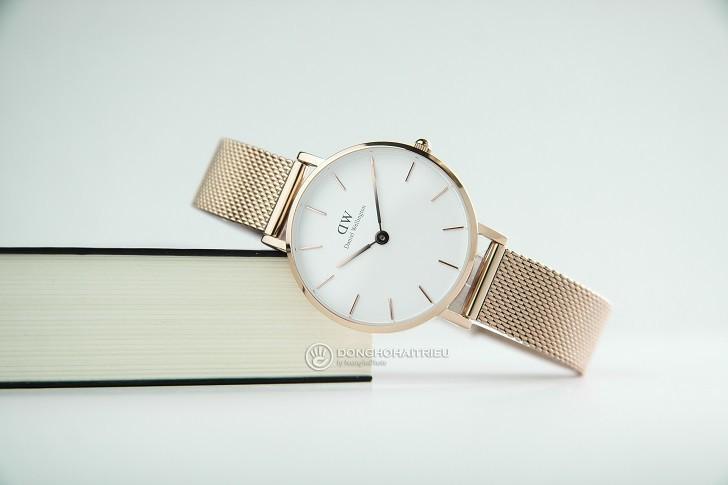Đồng hồ Daniel Wellington DW00100219 dây lưới, mỏng 6mm - Ảnh: 1
