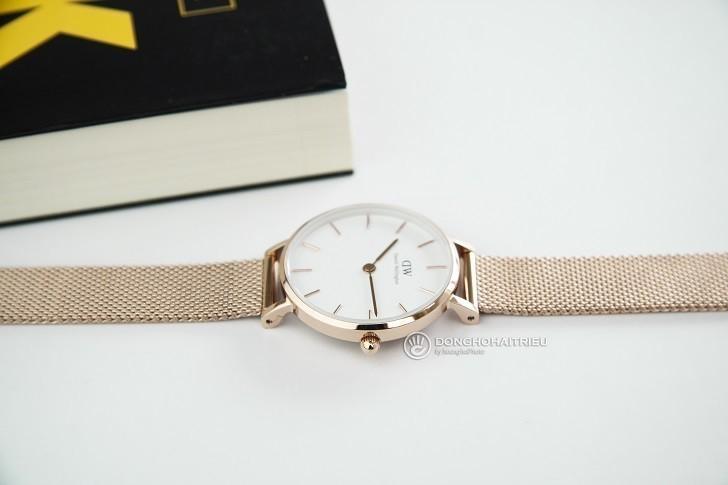 Đồng hồ Daniel Wellington DW00100219 dây lưới, mỏng 6mm - Ảnh: 4