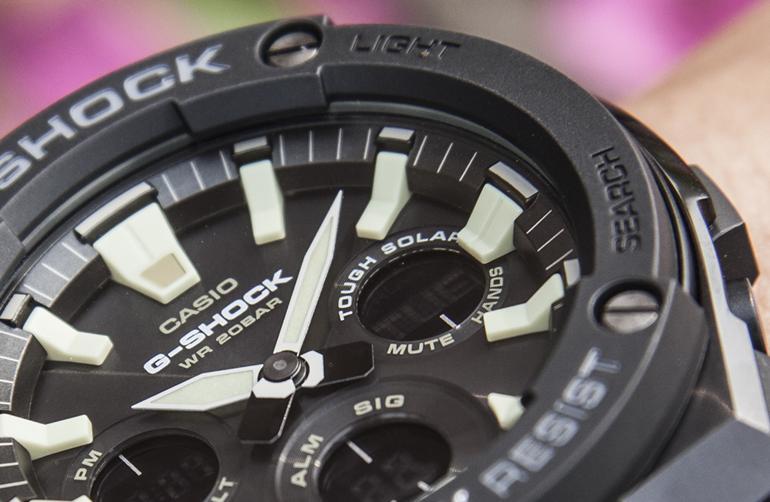 Đồng Hồ Casio Tough Solar Là Gì: Đồng Hồ Năng Lượng Mặt Trời Casio G-Shock GST-S120L-1BDR