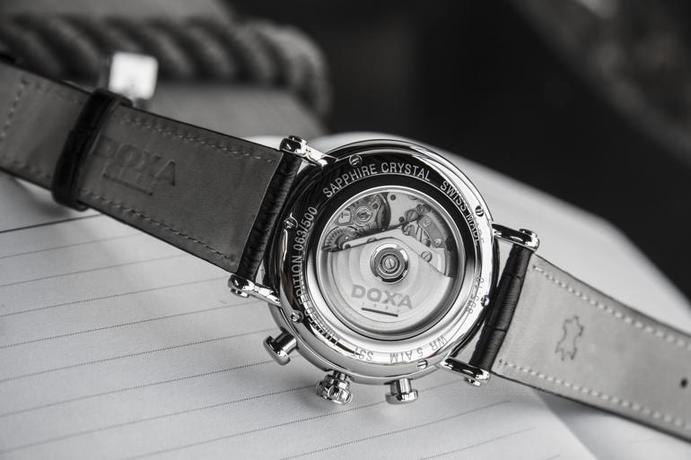 Doxa 895, Dòng Đồng Hồ Chronograph Ấp Ủ Vạn Nét Tinh Tế Từ Cổ Điển Máy ETA 7750