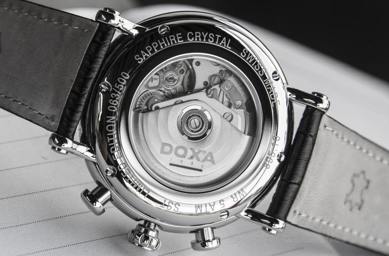 Doxa 895, Dòng Đồng Hồ Chronograph Ấp Ủ Vạn Nét Tinh Tế Từ Cổ Điển Số Thứ Tự Duy Nhất
