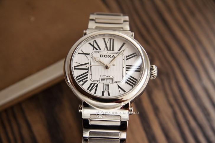 Đồng hồ Doxa D124SSVW bộ máy automatic đạt đến mức tinh tế - Ảnh 3
