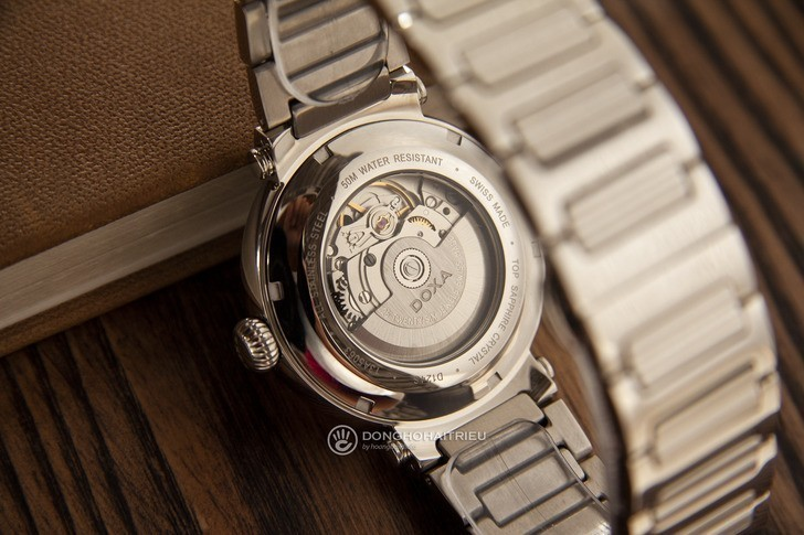 Đồng hồ Doxa D124SSVW bộ máy automatic đạt đến mức tinh tế - Ảnh 5