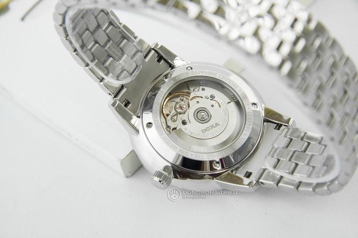Đồng hồ nam Doxa D206SGY kính sapphire chống trầy cao cấp - Ảnh 5