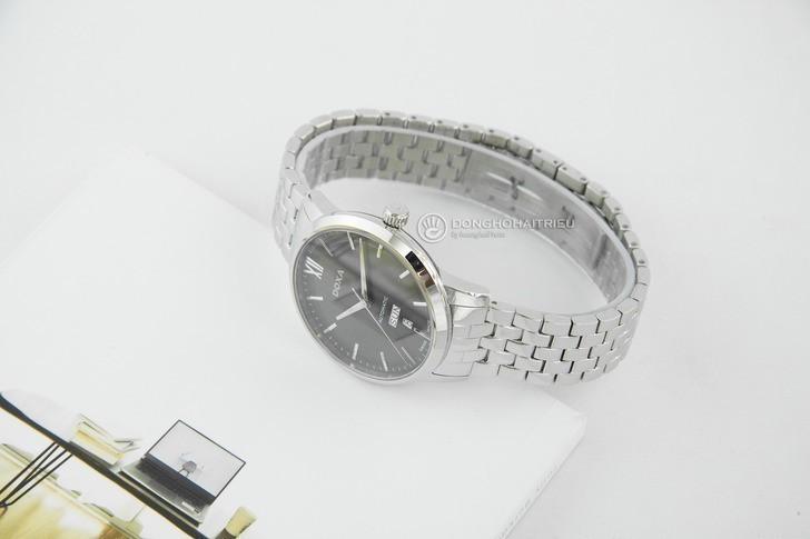 Đồng hồ nam Doxa D206SGY kính sapphire chống trầy cao cấp - Ảnh 6