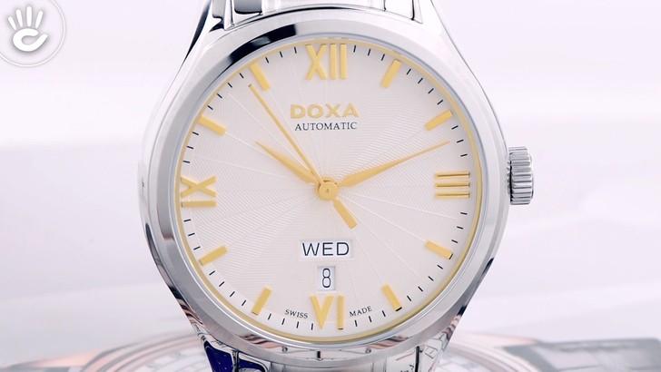 Đồng hồ Doxa D218SCM máy cơ Thuỵ Sỹ, theo chuẩn Swiss Made - Ảnh 3