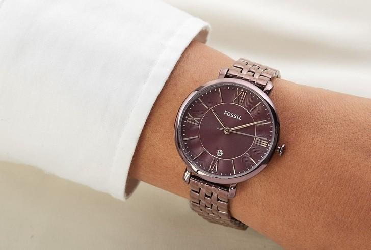 Đồng hồ Fossil ES4100 giá tốt thay pin miễn phí trọn đời - Ảnh 1