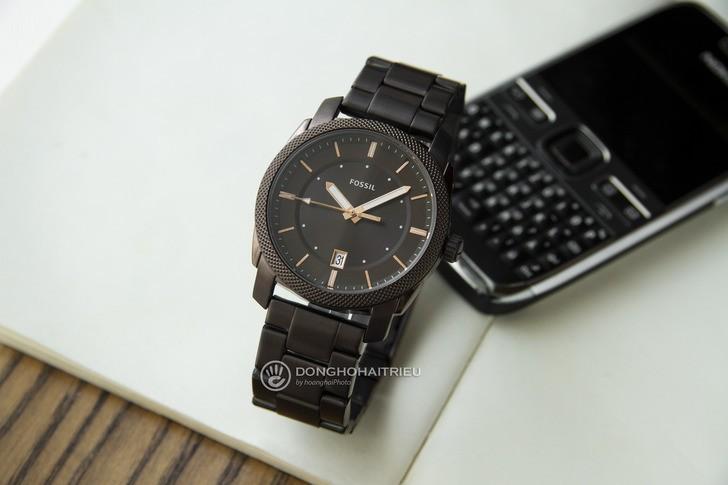 Đồng hồ Fossil FS5370 thiết kế thời trang, màu nâu ấn tượng - Ảnh 1