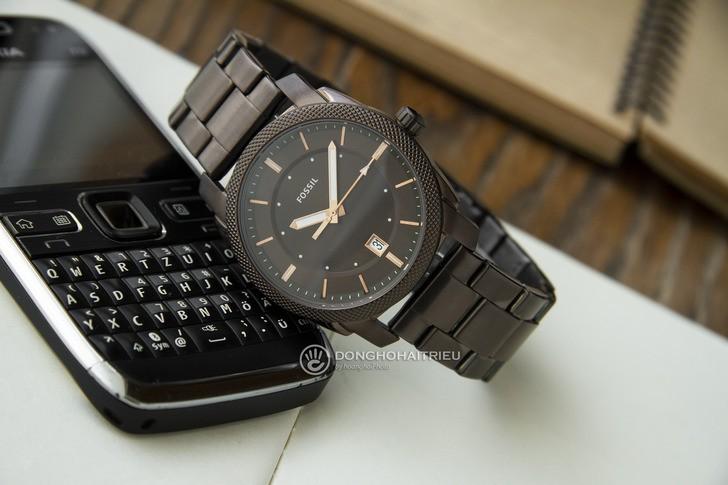 Đồng hồ Fossil FS5370 thiết kế thời trang, màu nâu ấn tượng - Ảnh 2