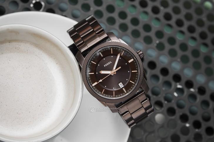Đồng hồ Fossil FS5370 thiết kế thời trang, màu nâu ấn tượng - Ảnh 3