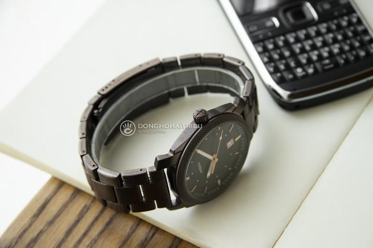 Đồng hồ Fossil FS5370 thiết kế thời trang, màu nâu ấn tượng - Ảnh 5