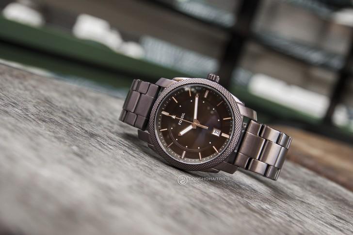 Đồng hồ Fossil FS5370 thiết kế thời trang, màu nâu ấn tượng - Ảnh 6