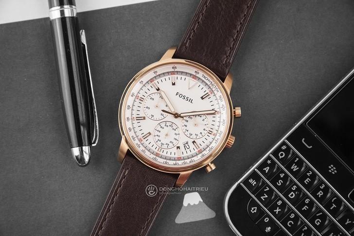 Đồng hồ Fossil FS5415 giá rẻ, thay pin trọn đời miễn phí - Ảnh 1