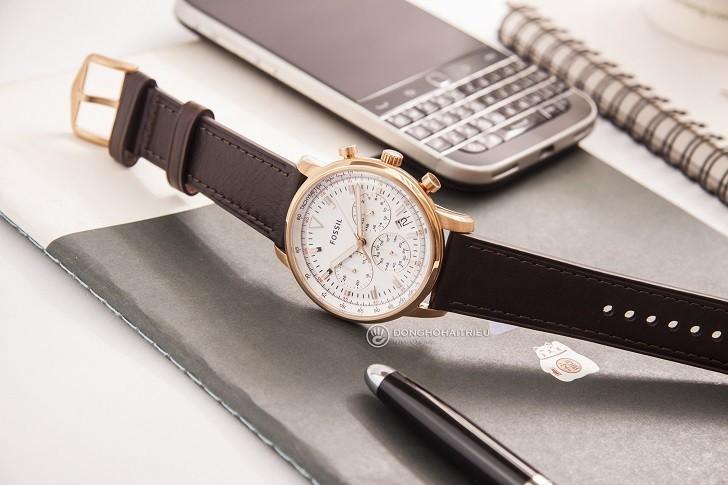 Đồng hồ Fossil FS5415 giá rẻ, thay pin trọn đời miễn phí - Ảnh 2