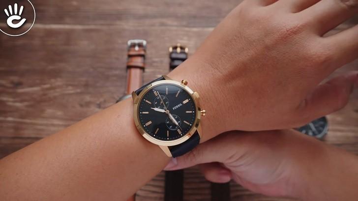 Đồng hồ Fossil FS5436 giá rẻ, thay pin miễn phí trọn đời - Ảnh 1