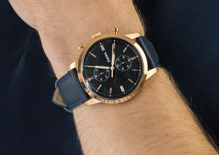 Đồng hồ Fossil FS5436 giá rẻ, thay pin miễn phí trọn đời - Ảnh 4