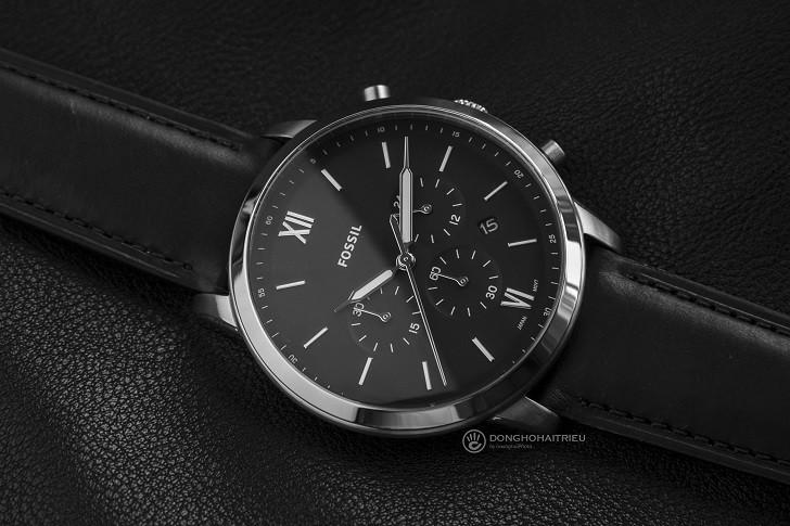 Đồng hồ nam Fossil FS5452 có thể bấm giờ thay pin miễn phí - Ảnh 1