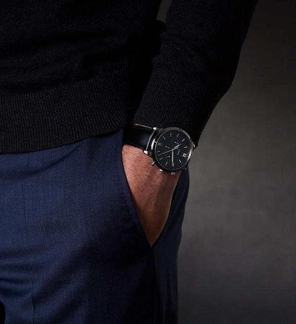 Đồng hồ nam Fossil FS5452 có thể bấm giờ thay pin miễn phí - Ảnh 3