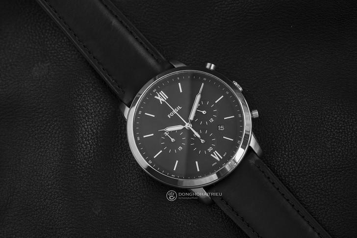 Đồng hồ nam Fossil FS5452 có thể bấm giờ thay pin miễn phí - Ảnh 4
