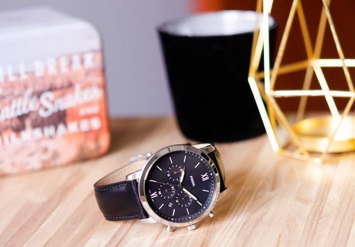 Đồng hồ nam Fossil FS5452 có thể bấm giờ thay pin miễn phí - Ảnh 5