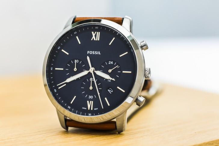 Đồng hồ Fossil FS5453 thiết kế thời trang, có Chronograph - Ảnh 2