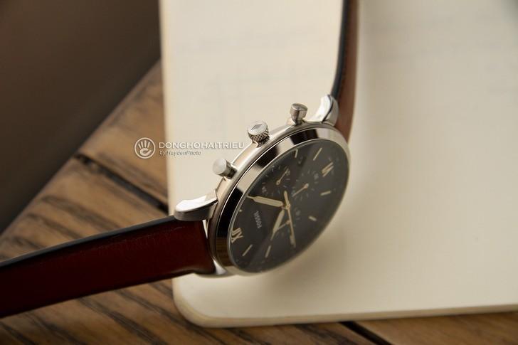 Đồng hồ Fossil FS5453 thiết kế thời trang, có Chronograph - Ảnh 5