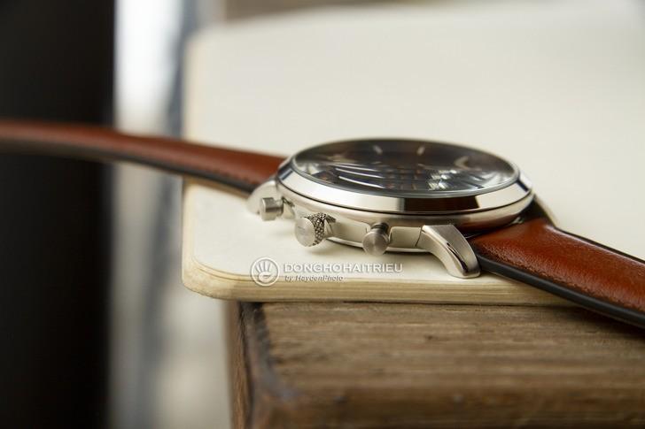 Đồng hồ Fossil FS5453 thiết kế thời trang, có Chronograph - Ảnh 6