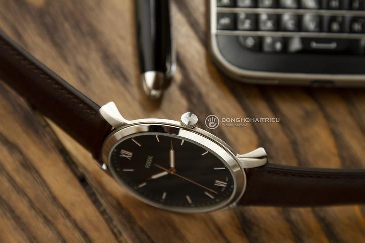 Đồng hồ Fossil FS5464 giá rẻ, thay pin miễn phí trọn đời - Ảnh 5