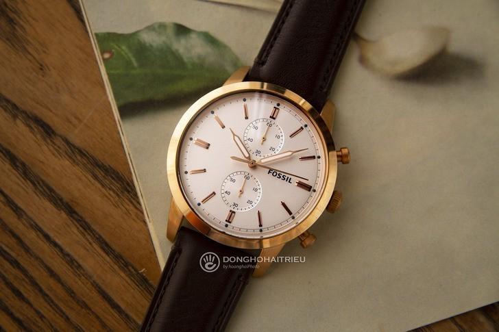 Đồng hồ Fossil FS5468 giá rẻ, thay pin miễn phí trọn đời - Ảnh 1