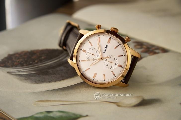 Đồng hồ Fossil FS5468 giá rẻ, thay pin miễn phí trọn đời - Ảnh 2