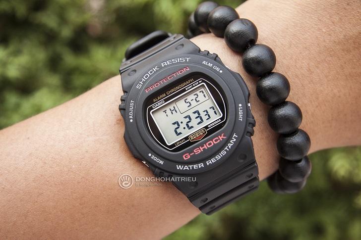 G-Shock DW-5750E-1DR: Thiết Kế Cho Những Cột Mốc Quan Trọng - 4