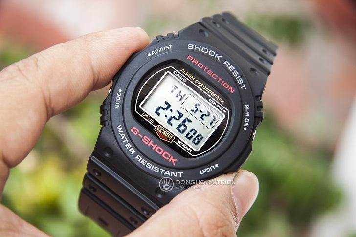 G-Shock DW-5750E-1DR: Thiết Kế Cho Những Cột Mốc Quan Trọng - 1