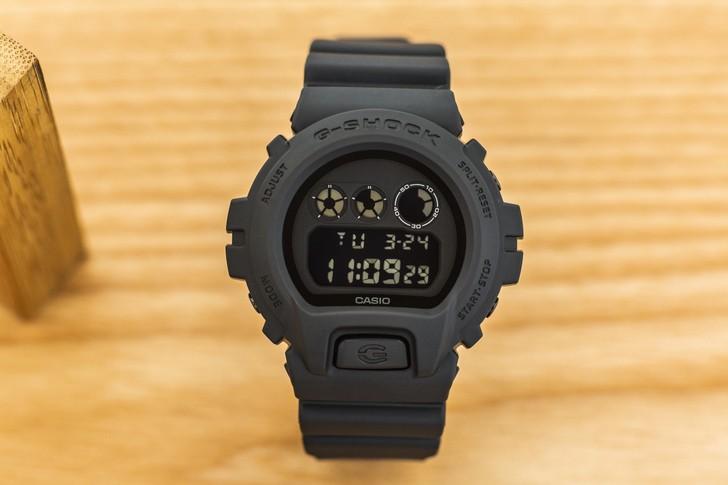 Đồng hồ G-Shock DW-6900BB-1DR thiết kế nam tính, mạnh mẽ - Ảnh 1