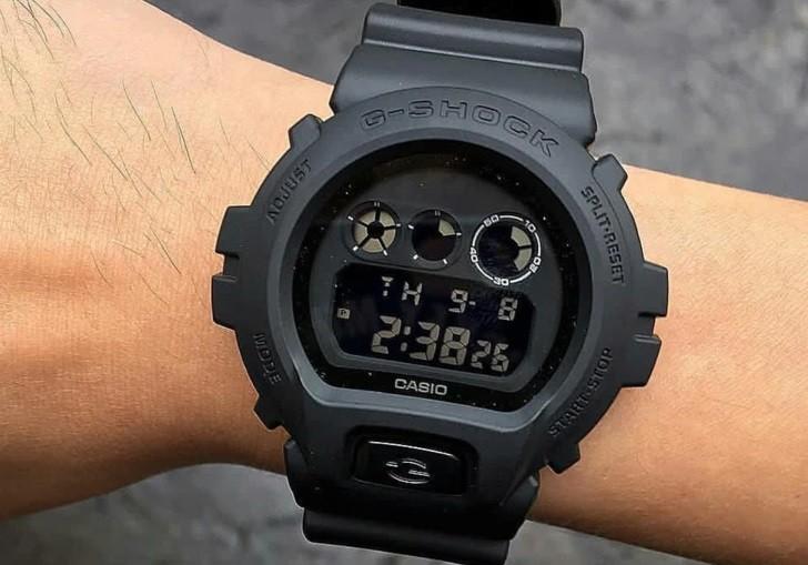 Đồng hồ G-Shock DW-6900BB-1DR thiết kế nam tính, mạnh mẽ - Ảnh 3