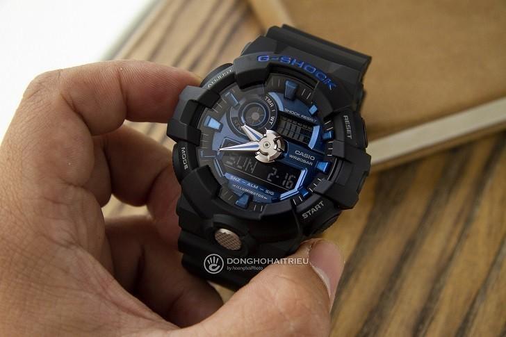 Đồng hồ G-Shock GA-710-1A2DR giá rẻ, thay pin miễn phí - Ảnh 1