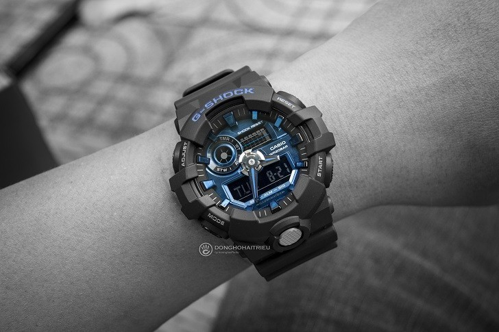 Đồng hồ G-Shock GA-710-1A2DR giá rẻ, thay pin miễn phí - Ảnh 2