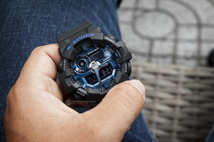 Đồng hồ G-Shock GA-710-1A2DR giá rẻ, thay pin miễn phí - Ảnh 3
