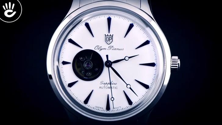 Đồng hồ Olym Pianus 99141AGS-T-71 giá rẻ, thay pin miễn phí - Ảnh 2