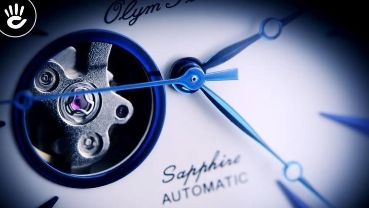 Đồng hồ Olym Pianus 99141AGS-T-71 giá rẻ, thay pin miễn phí - Ảnh 5