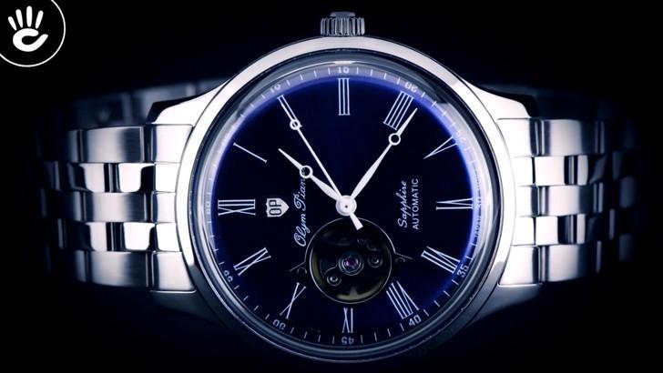 Đồng hồ Olym Pianus 99141AGS-X-711 máy cơ, lên cót tự động - Ảnh 1