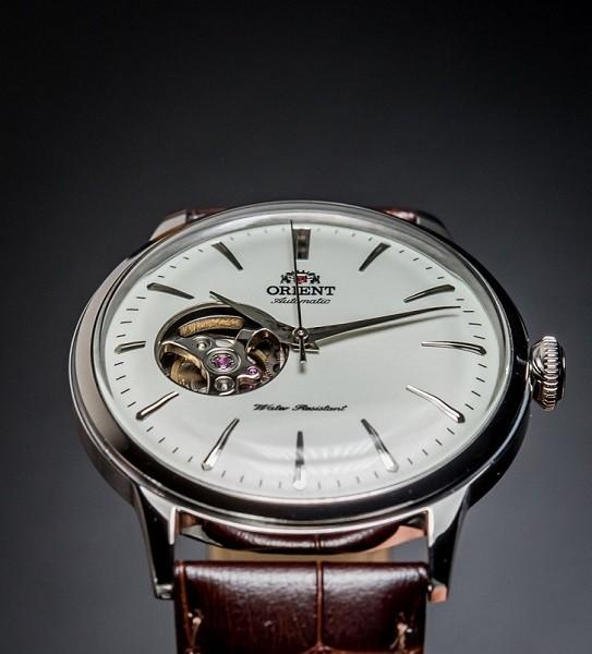 Đồng hồ Orient RA-AG0001S10B trữ cót 40 giờ, mặt kính vòm - Ảnh: 4