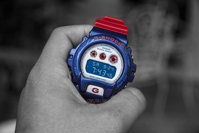 [REVIEW] Tất Tần Tật Thiết Kế Đồng Hồ G-Shock DW-6900AC-2DR