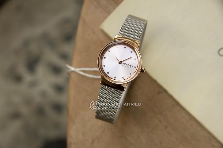Đồng hồ Skagen SKW2716 thiết kế nhỏ gọn dành cho phái đẹp - Ảnh 1
