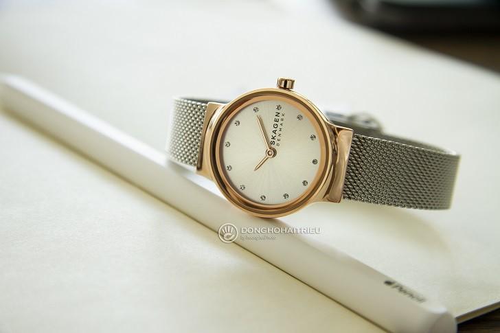 Đồng hồ Skagen SKW2716 thiết kế nhỏ gọn dành cho phái đẹp - Ảnh 4