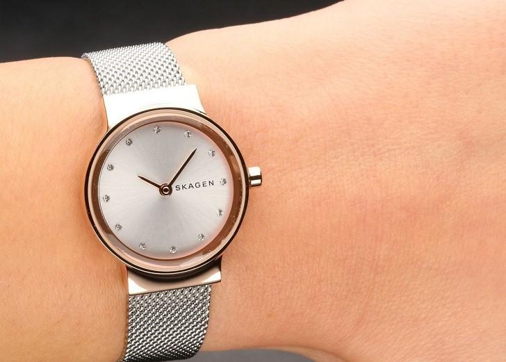 Đồng hồ Skagen SKW2716 thiết kế nhỏ gọn dành cho phái đẹp - Ảnh 7