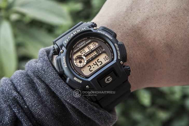 Trải Nghiệm Trên Tay Chiếc Đồng Hồ G-Shock DW-9052GBX-1A9DR - 4